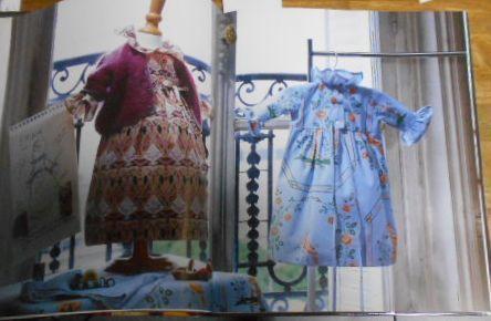 G1926☆【洋書 フランス語】Haute couture pour bb Sylvie Loussier 子供服☆_画像5