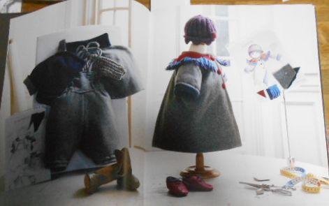 G1926☆【洋書 フランス語】Haute couture pour bb Sylvie Loussier 子供服☆_画像3