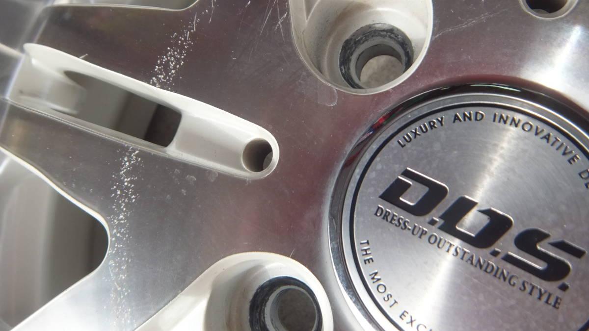 超深リム DOS 17x5.5J+47 100-4H LUCCINI 165/40R17 17インチ4本セット 軽自動車 ワゴンR ムーブ タント_画像7