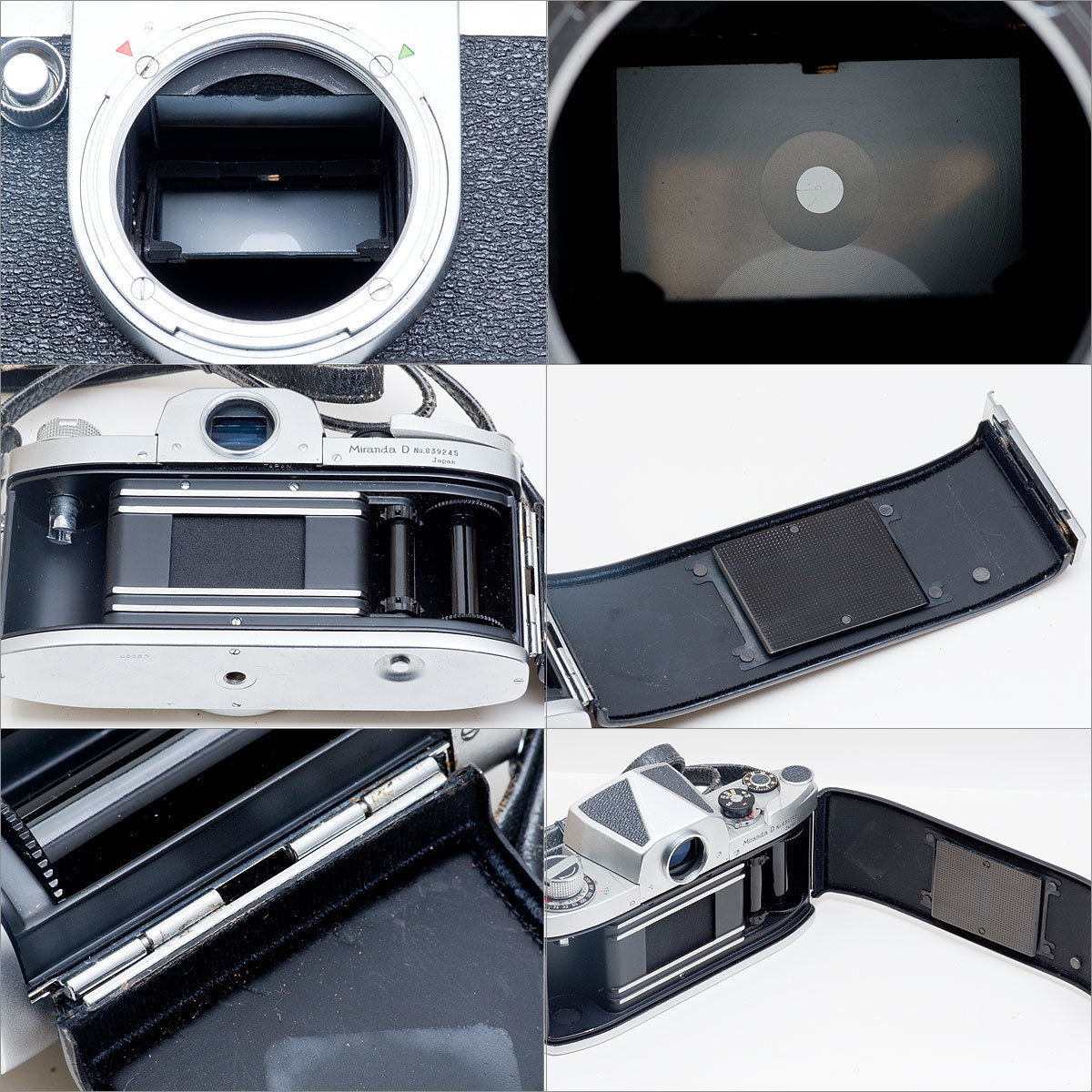 Miranda D Auto Miranda 1:2.8 f=3.5cm SOLIGOR TELEPHOTO 1:4.5 f=200mm _画像7