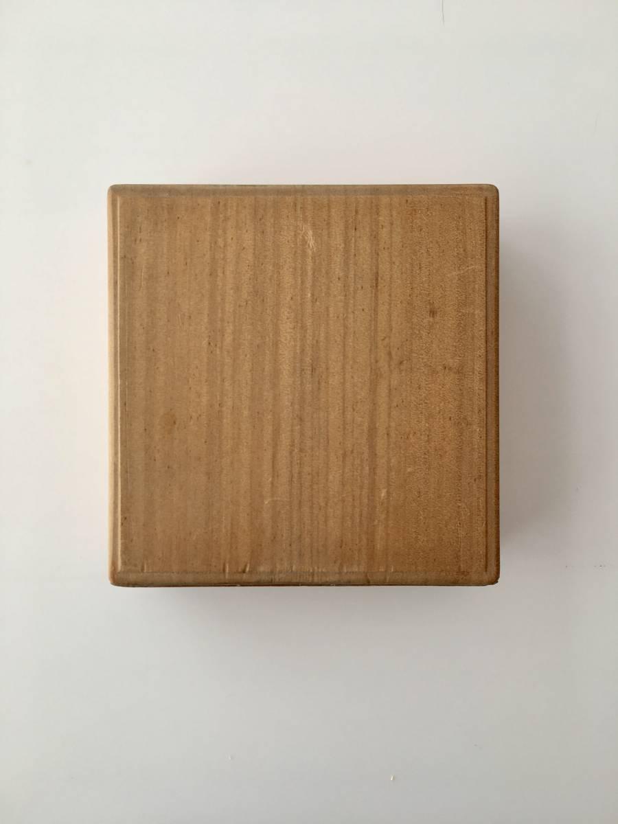 朴木 空箱 刀装具 鐔no101