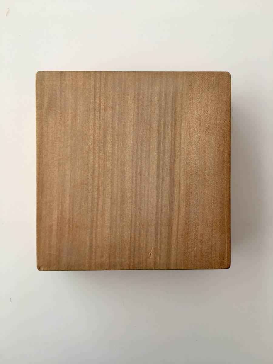 朴木 空箱 刀装具 鐔no101_画像3