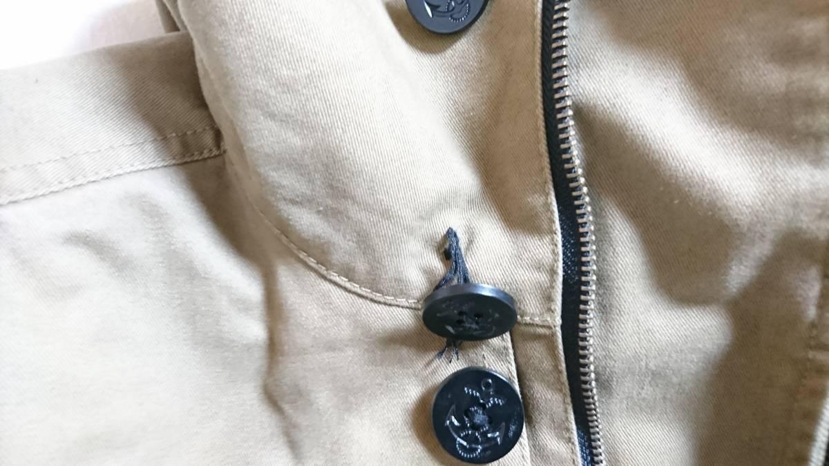 ☆RAGEBLUE( レイジブルー) 男性用フード付ジャケット ブルゾン カーキ?ブラウン? Lサイズ☆_画像6