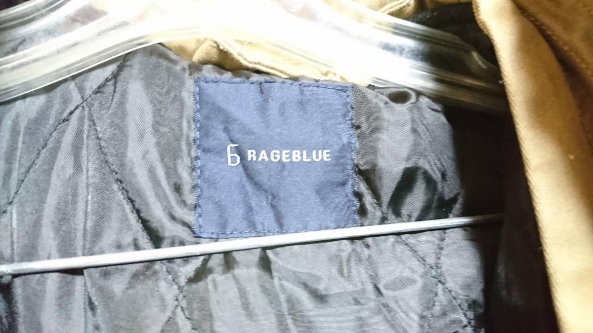 ☆RAGEBLUE( レイジブルー) 男性用フード付ジャケット ブルゾン カーキ?ブラウン? Lサイズ☆_画像5