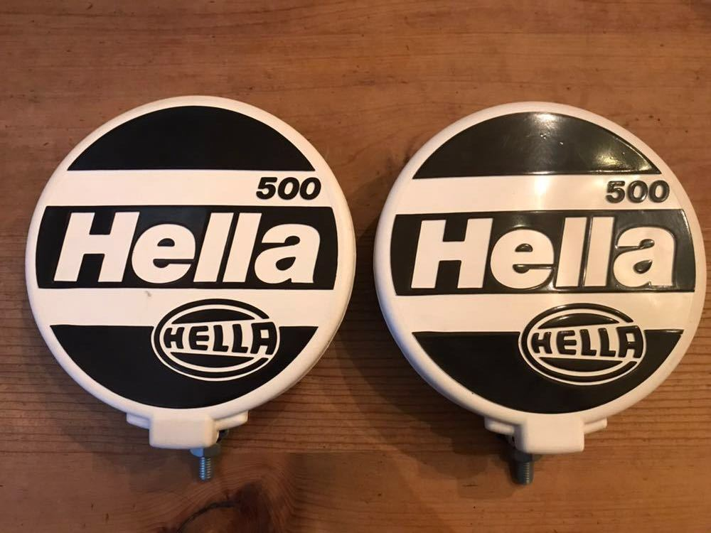 Hella ヘラー 500 ドライビング フォグランプ 旧車 ランクル ジムニー ゲレンデ ディフェ