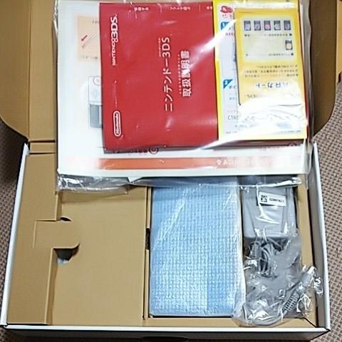 美品 3DS 本体 ライトブルー 新品同様品_画像2