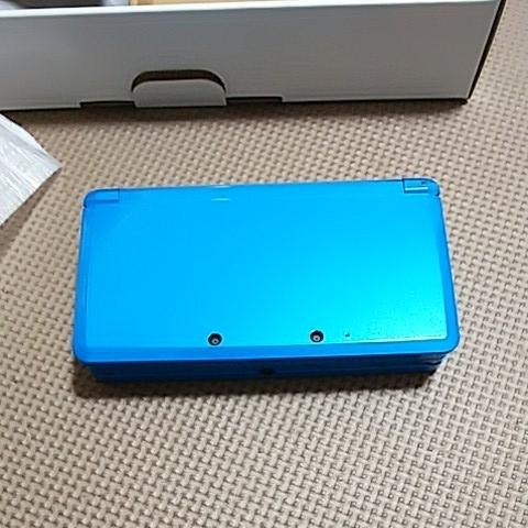 美品 3DS 本体 ライトブルー 新品同様品_画像4