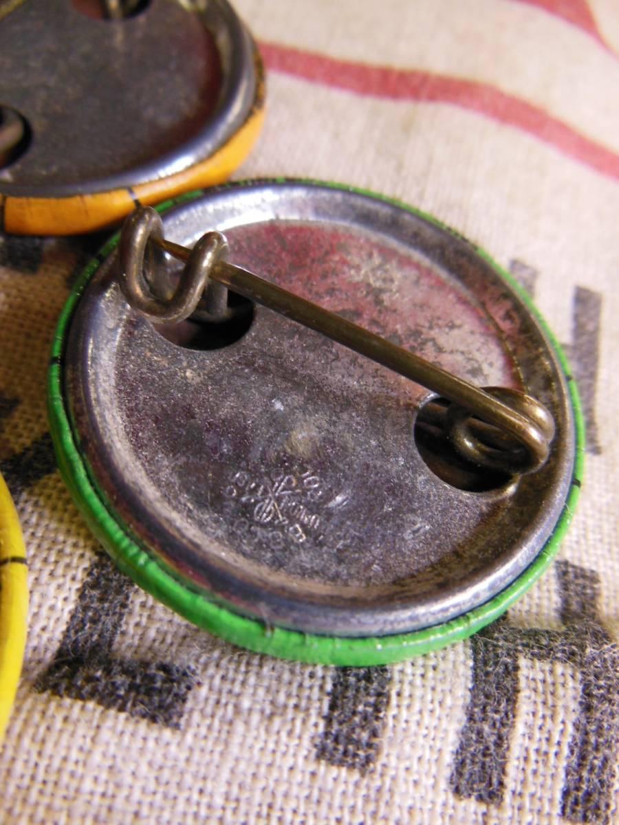 ⑤1961年 ビンテージ 3個セット ENGINEERS UNION (IUOE) 缶バッジ /ユニオンメイド/30S40S50S/ワーカー/ワークウェアー_画像3