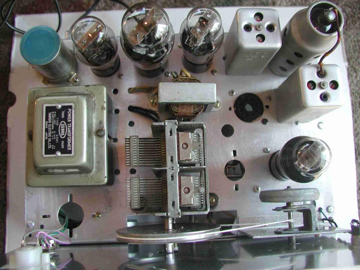 2バンド5球スーパー真空管ラジオ(自作品)_画像8