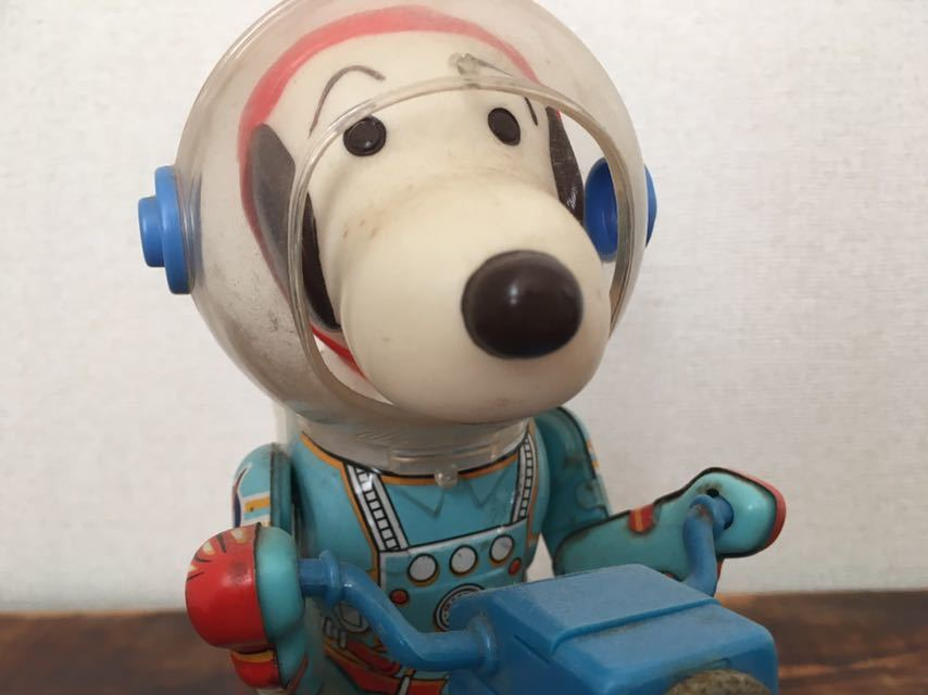Vintage-60S-70S-Snoopy-Space-Scooter-Astro-Notes-Flying-Ace-Peanuts-edition thumbnail 9