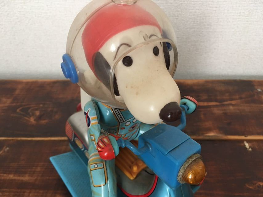 Vintage-60S-70S-Snoopy-Space-Scooter-Astro-Notes-Flying-Ace-Peanuts-edition