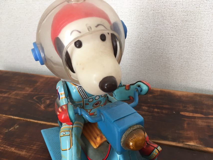 Vintage-60S-70S-Snoopy-Space-Scooter-Astro-Notes-Flying-Ace-Peanuts-edition thumbnail 8