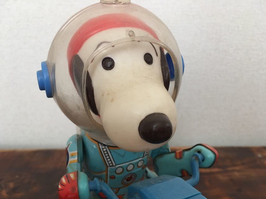 Vintage-60S-70S-Snoopy-Space-Scooter-Astro-Notes-Flying-Ace-Peanuts-edition thumbnail 2
