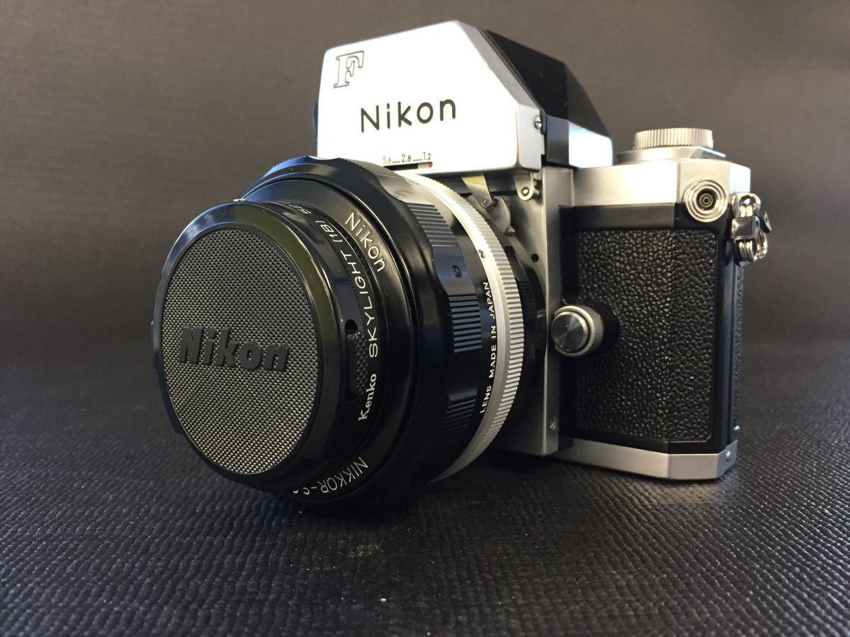 FTnファインダー【Nikon ニコンF フォトミック】703万番台◆NIKKOR-S・C Auto1:1.2 f=55mm◆一眼レフカメラレンズセット◆雄