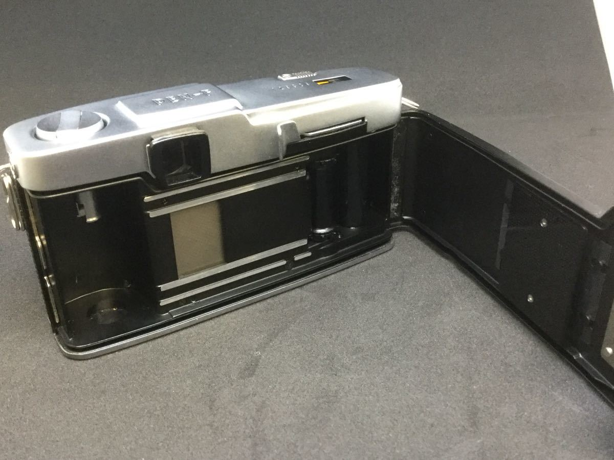 【綺麗】OLYMPUS PEN F/オリンパス フィルム一眼レフ 1:1.8 f=38mm【シャッター音OK】_画像3