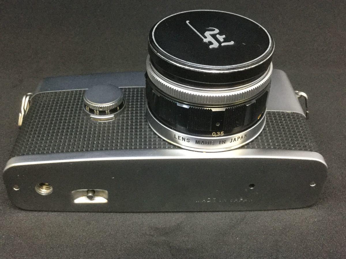 【綺麗】OLYMPUS PEN F/オリンパス フィルム一眼レフ 1:1.8 f=38mm【シャッター音OK】_画像7