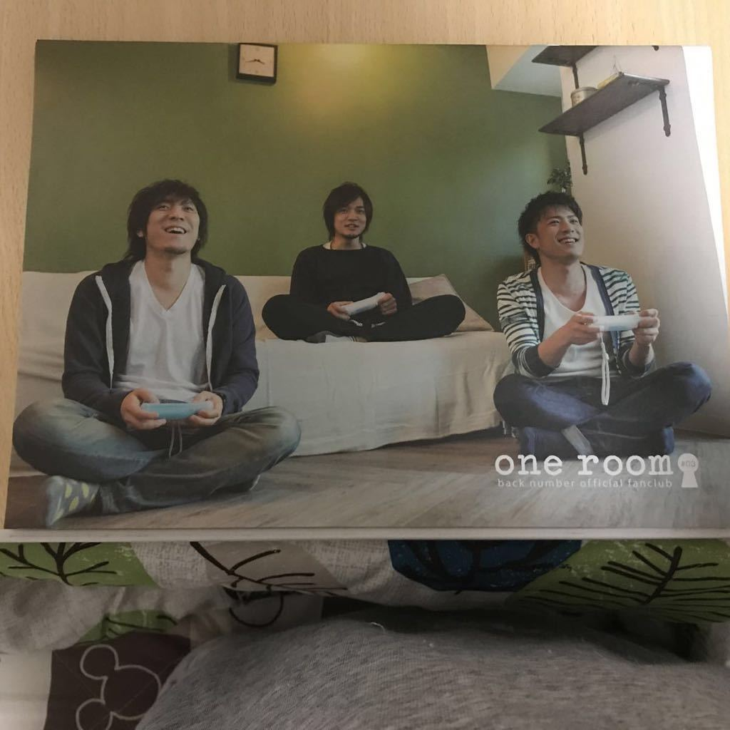 ☆used☆back number ファンクラブ限定 one room 会報誌