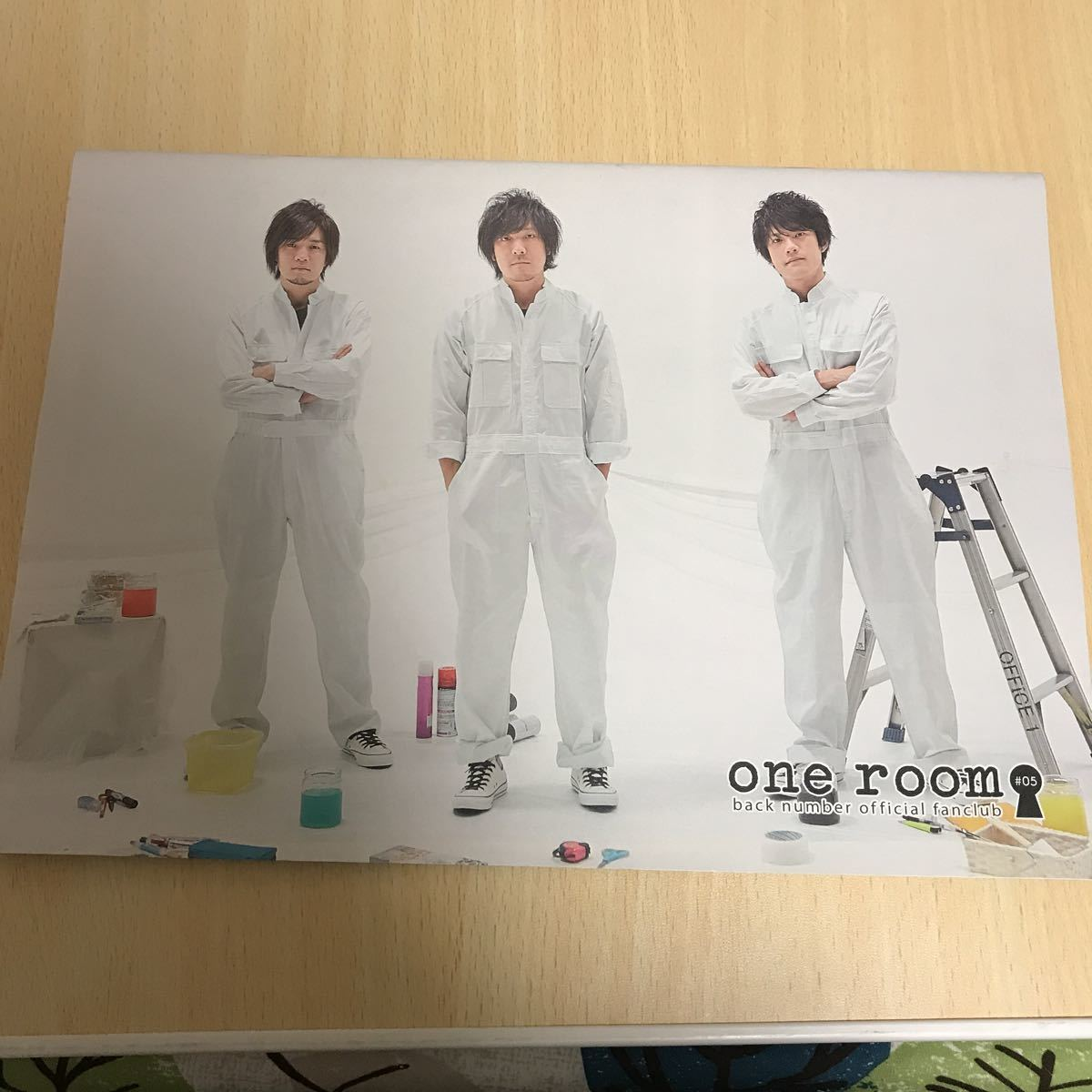 ☆used☆back number ファンクラブ限定 oneroom 会報誌 vol.5