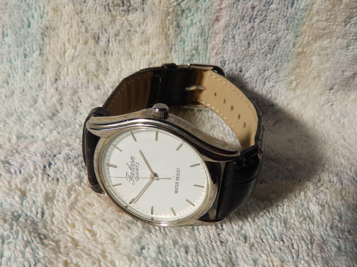 可動品・Q&Q キューアンドキュークオーツ男性用腕時計(33ミリ直径/竜頭が除く) _画像1