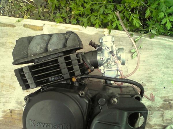 AR80,KS-2用スーパーショートマニホールド付きビックキャブキットpwk28 ks-II