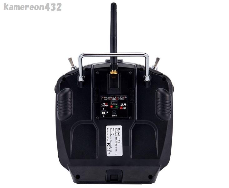 [Jumper T12 OpenTX版] JP4-in-1 マルチプロトコル RFモジュール付き Frsky JR Flysky用 16CH 送信機 モード2_画像4
