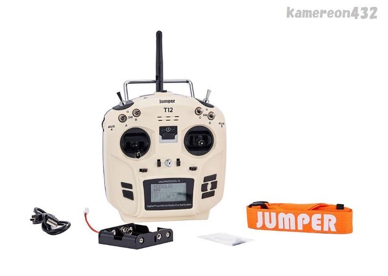 [Jumper T12 OpenTX版] JP4-in-1 マルチプロトコル RFモジュール付き Frsky JR Flysky用 16CH 送信機 モード2_画像5