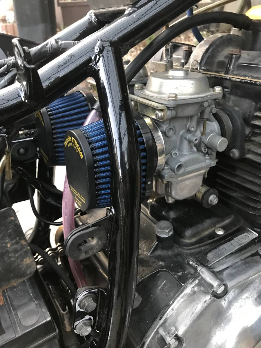 GSX250E 部品取り レストアベース 一応エンジンかか_画像8