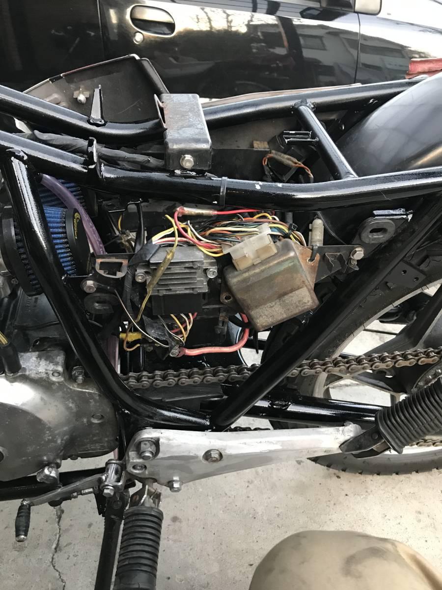 GSX250E 部品取り レストアベース 一応エンジンかか_画像6