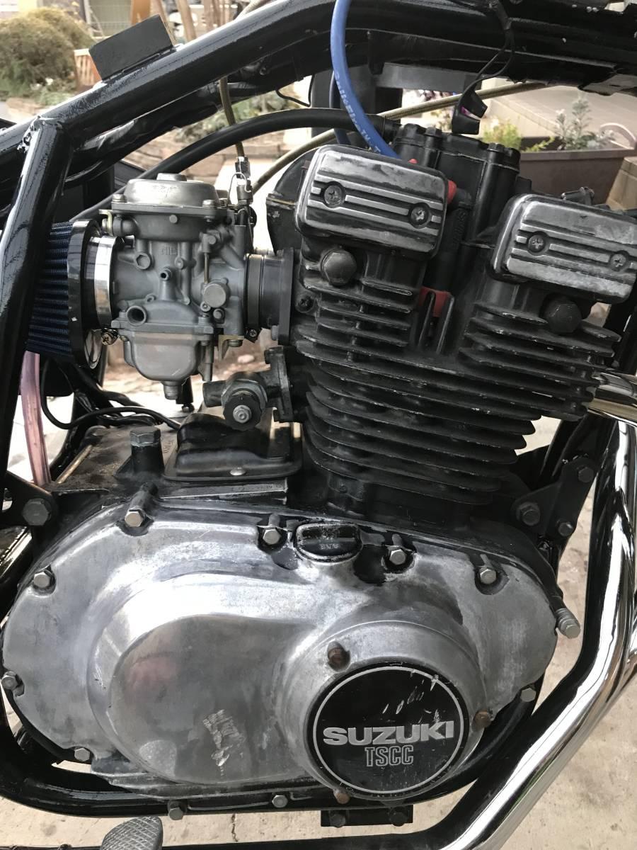 GSX250E 部品取り レストアベース 一応エンジンかか_画像3