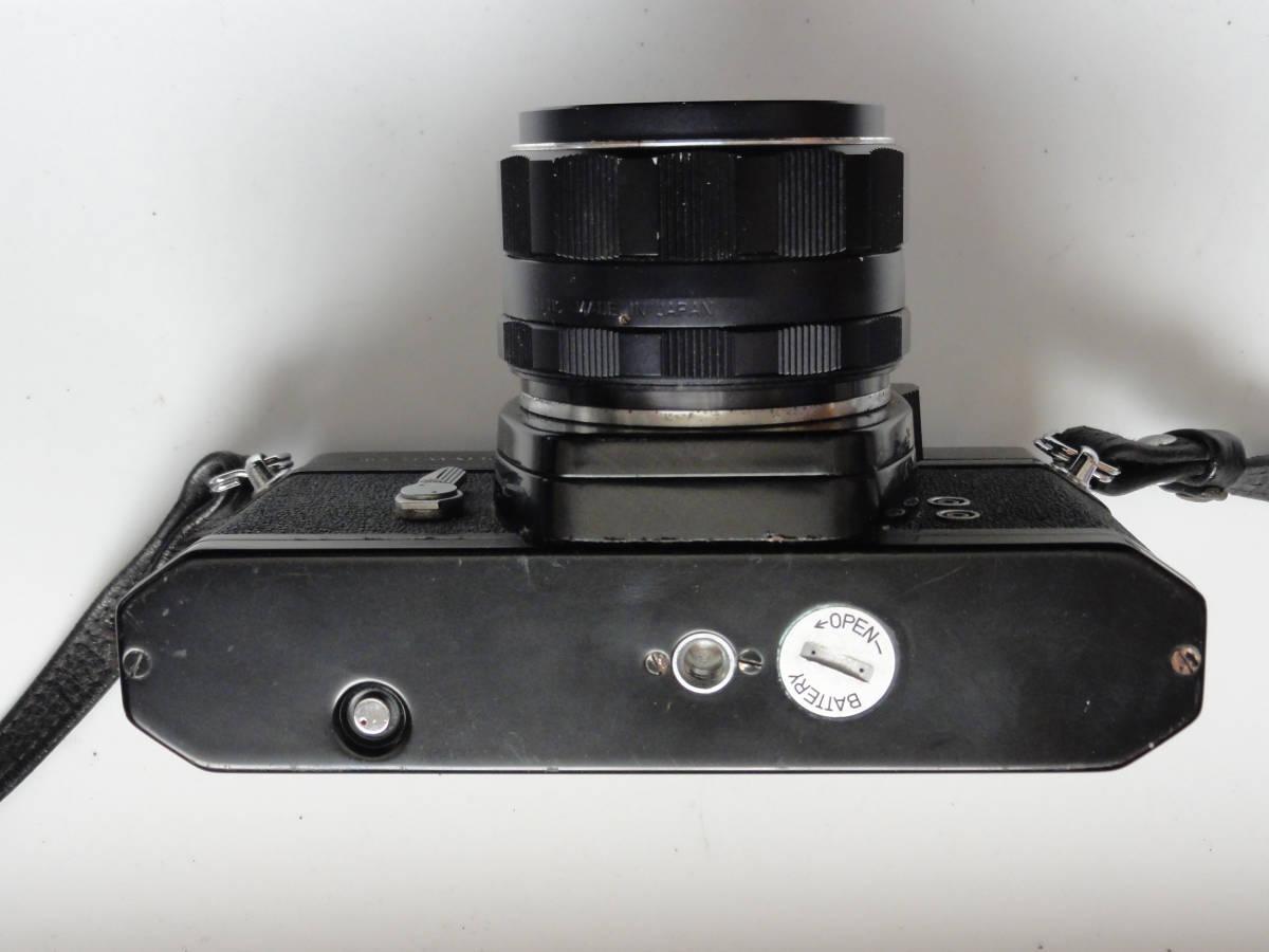 綺麗な状態のアサヒペンタックスSP黒ボディーとSMCタクマー55mmF1.8レンズ付き_画像4