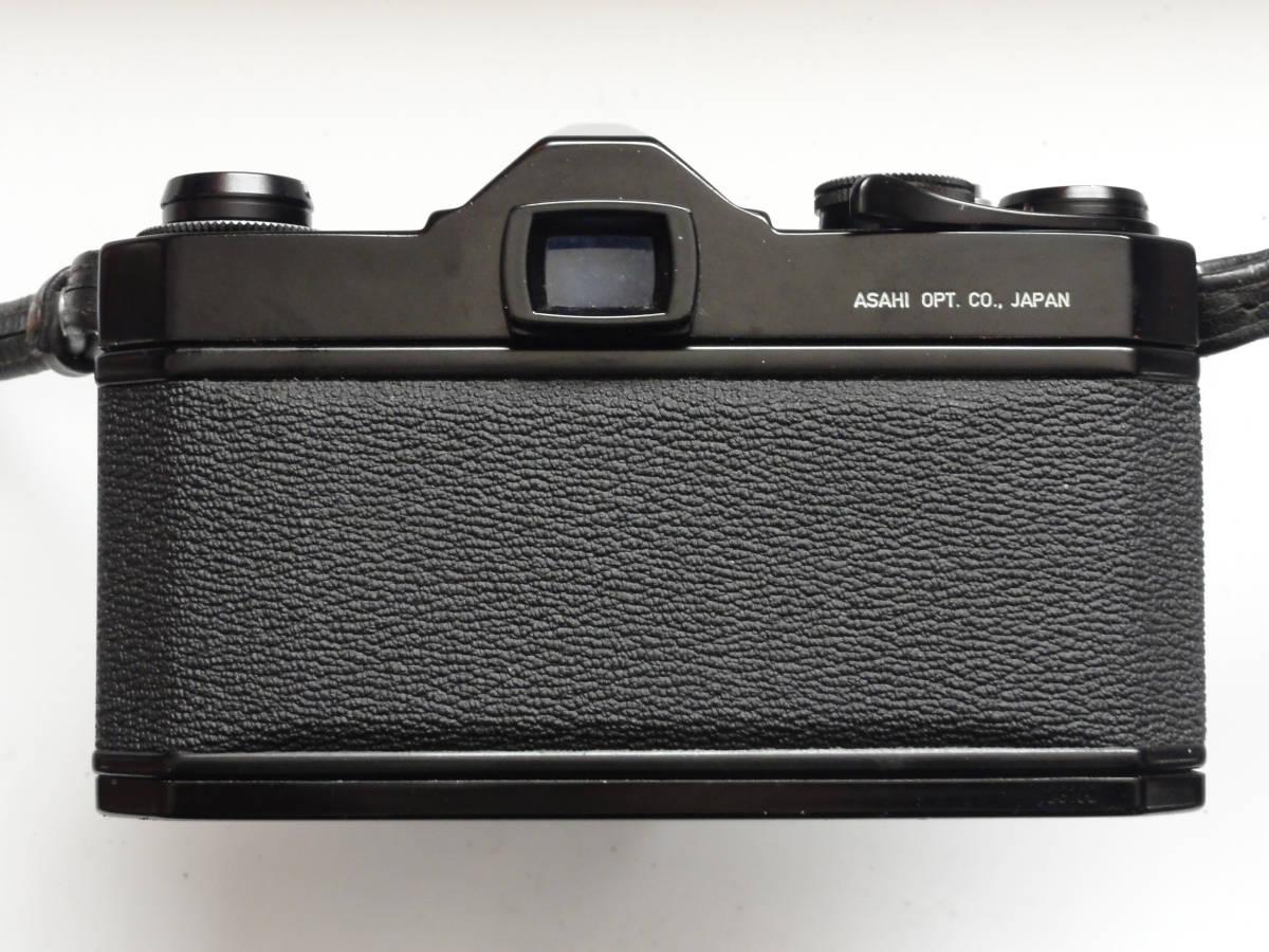綺麗な状態のアサヒペンタックスSP黒ボディーとSMCタクマー55mmF1.8レンズ付き_画像5