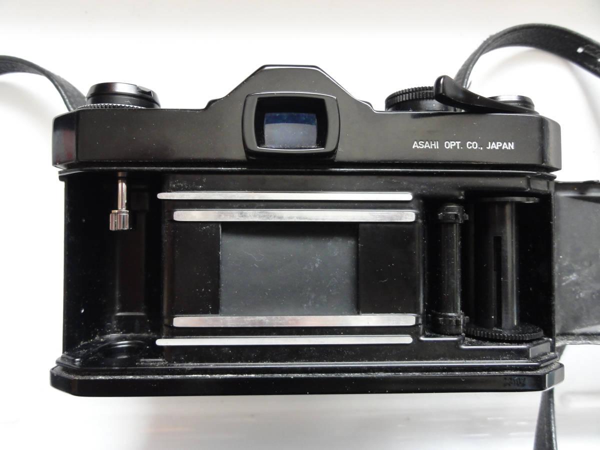 綺麗な状態のアサヒペンタックスSP黒ボディーとSMCタクマー55mmF1.8レンズ付き_画像7