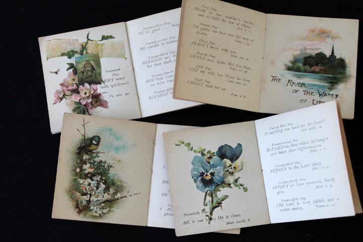 ■ アンティーク絵本「Bible Gems」(聖書の宝石)/12冊セット/Sale ■_画像5