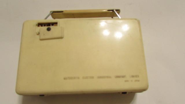 (旧家・蔵出し)(古い味わいのある携帯用真空管ラジオ・ナショナル・MODEL PL-440)貴重・珍品・ジャンク品_画像7
