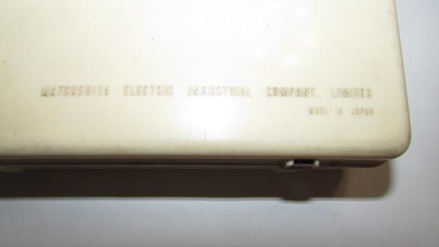 (旧家・蔵出し)(古い味わいのある携帯用真空管ラジオ・ナショナル・MODEL PL-440)貴重・珍品・ジャンク品_画像9