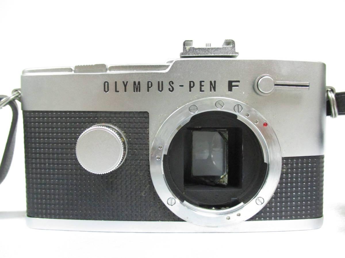 OLYMPUS オリンパス PEN F ペン 一眼レフ フィルムカメラ レンズ F.Zuiko Auto-S F1.8 38mm 大ReB46 1219 2_画像2