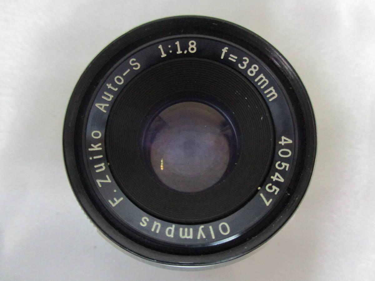 OLYMPUS オリンパス PEN F ペン 一眼レフ フィルムカメラ レンズ F.Zuiko Auto-S F1.8 38mm 大ReB46 1219 2_画像7