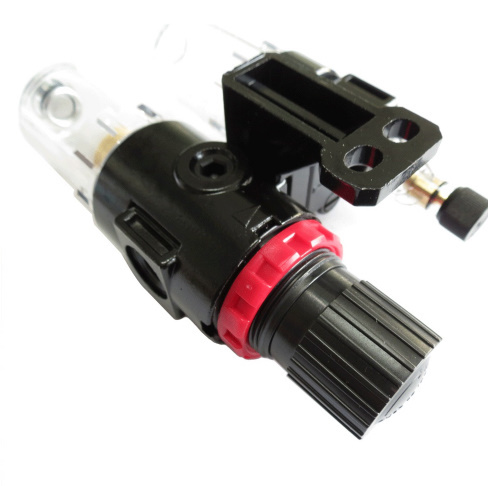 m333 1/4 エアフィルター レギュレータ 水分 トラップ コンプレッサー 制御 圧力 空気圧縮機 多機能 高品質 工具 車 バイク_画像2