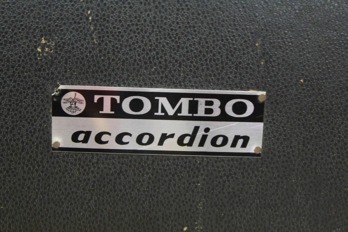アコーディオン TOMBO/トンボ No.301 ハードケースあり_画像2