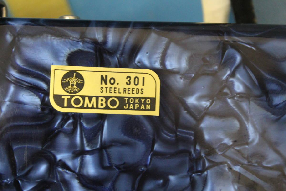 アコーディオン TOMBO/トンボ No.301 ハードケースあり_画像6