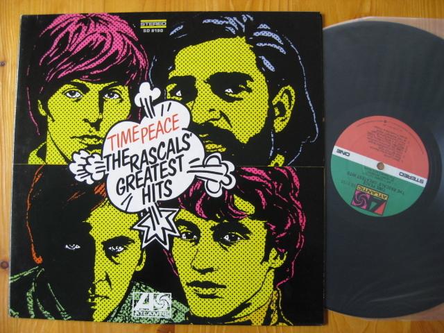 THE RASCALS' GREATEST HITS◇ラスカルズ♪TIME PEACE◇Felix Cavaliere◇'68年米盤LP!_画像1