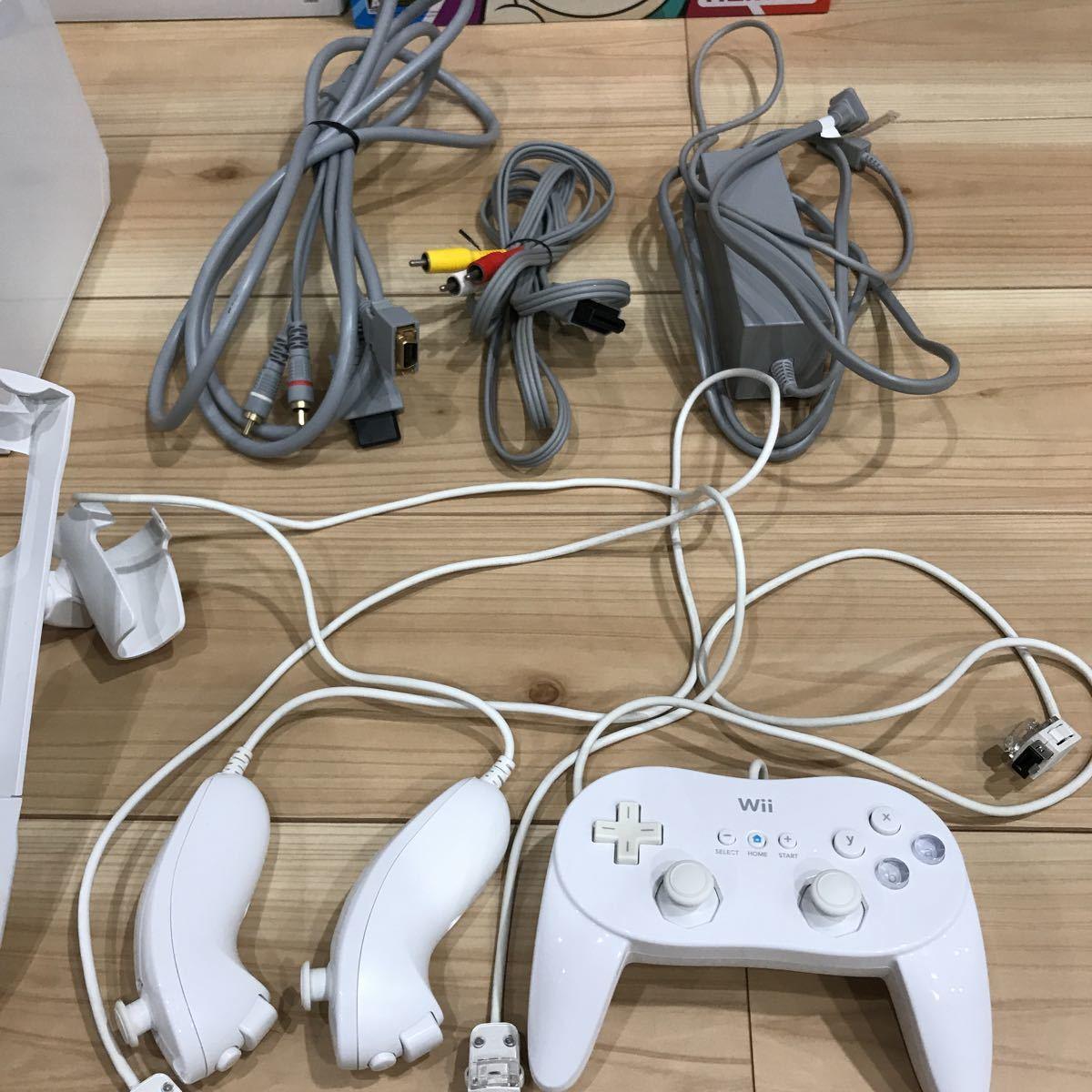 Wii 本体 ソフト付き_画像3