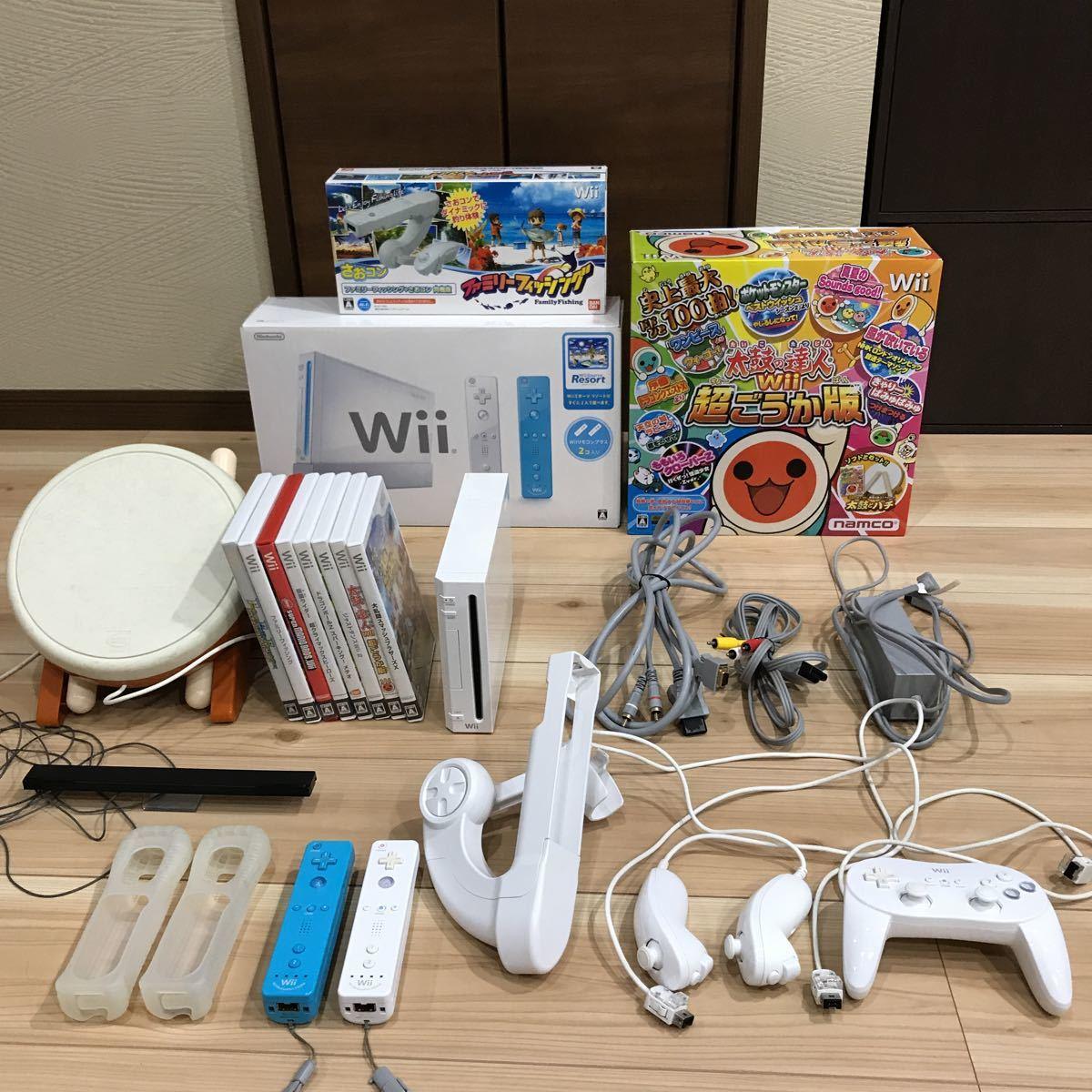 Wii 本体 ソフト付き