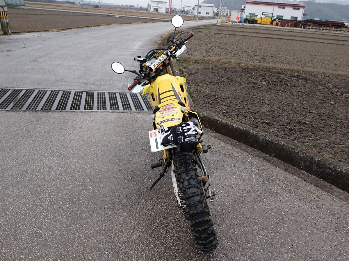 希少2ストトレール スズキ TS200R 動画有り おまけ多数 検索 CRM ランツァ KDX RMX _画像4