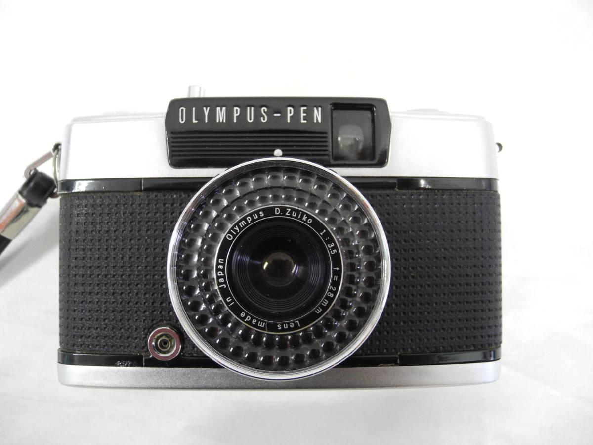(53)☆オリンパス☆OLYMPUS-PEN EE-3 フイルムカメラ 1:3.5 f=28mm♪