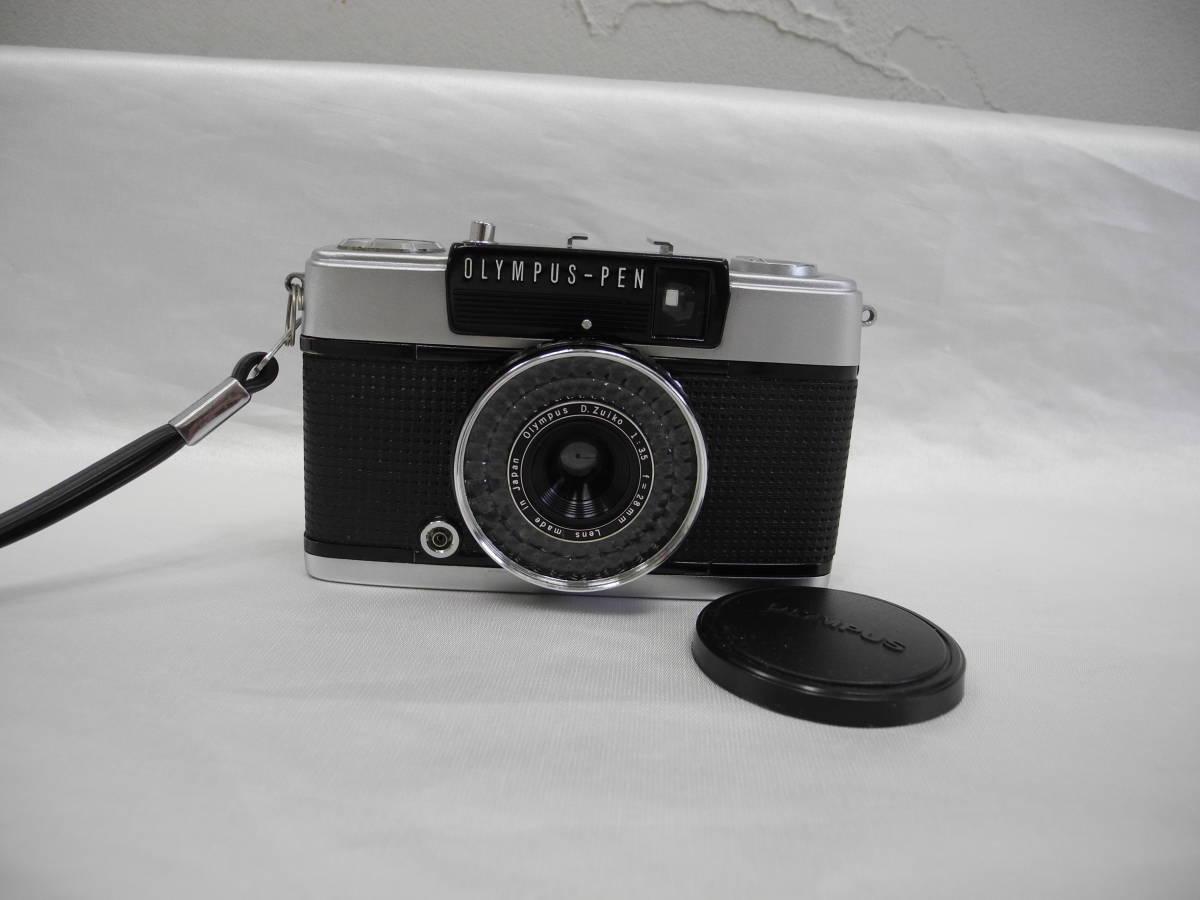 (53)☆オリンパス☆OLYMPUS-PEN EE-3 フイルムカメラ 1:3.5 f=28mm♪ _画像2