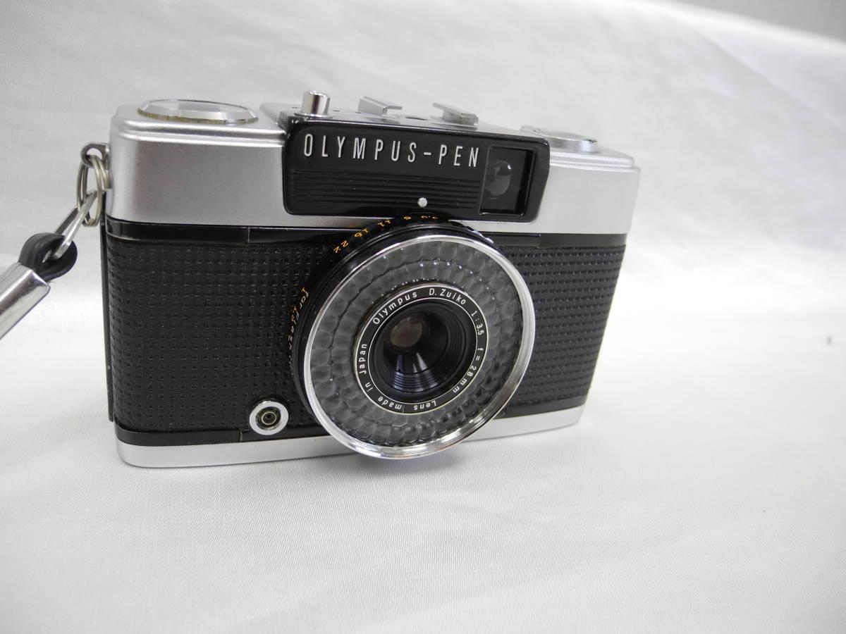 (53)☆オリンパス☆OLYMPUS-PEN EE-3 フイルムカメラ 1:3.5 f=28mm♪ _画像3