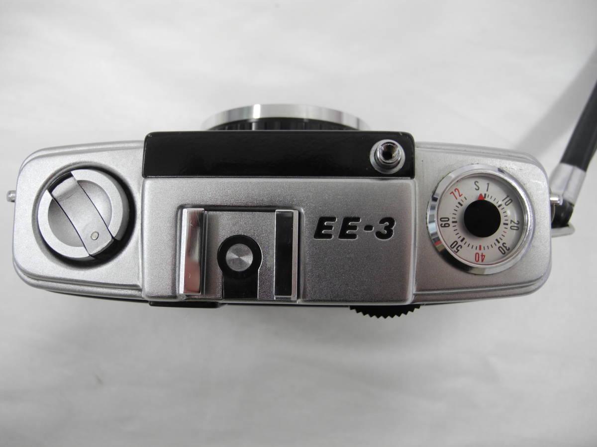 (53)☆オリンパス☆OLYMPUS-PEN EE-3 フイルムカメラ 1:3.5 f=28mm♪ _画像6