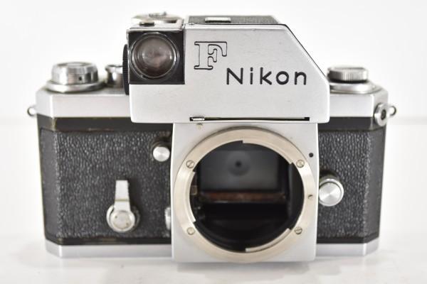 ニコン F Nikon フィルムカメラ 一眼レフ フォトミック 富士山マーク 前期型 シルバー ボディ マニュアルフォーカス DAI-955_画像2