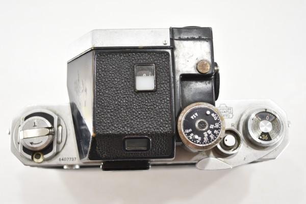ニコン F Nikon フィルムカメラ 一眼レフ フォトミック 富士山マーク 前期型 シルバー ボディ マニュアルフォーカス DAI-955_画像8